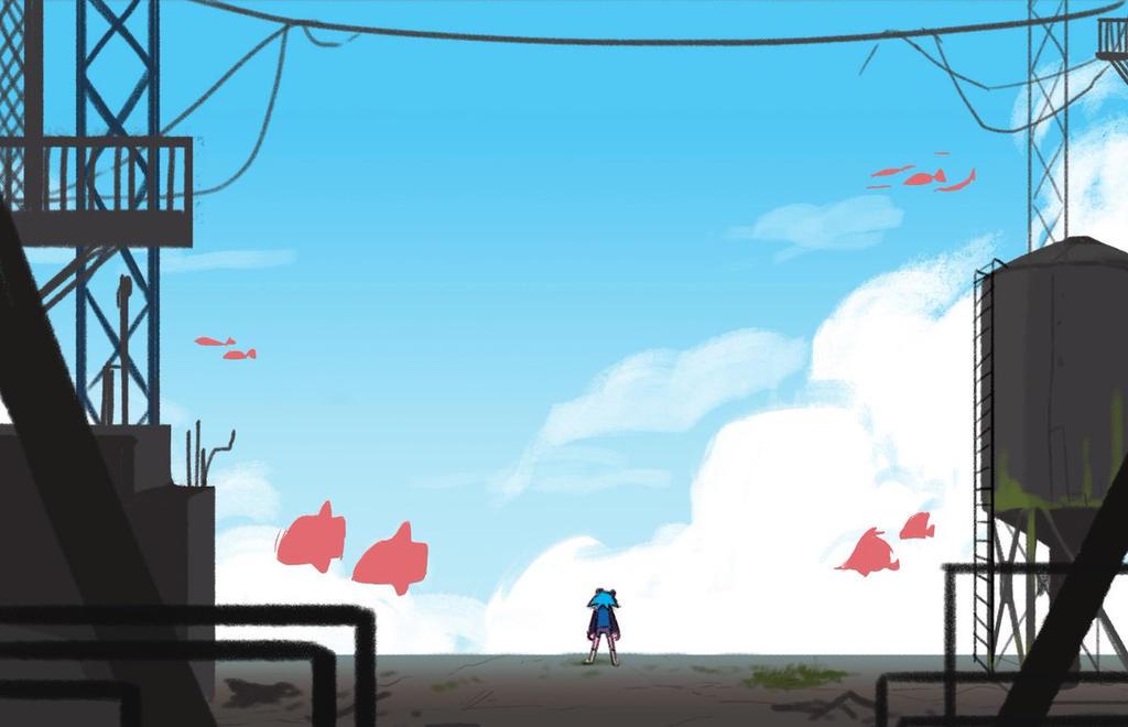 skyfish by xinseng
