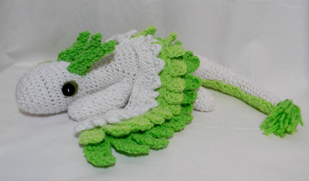Air/Earth Dragon ami by gwilly-crochet