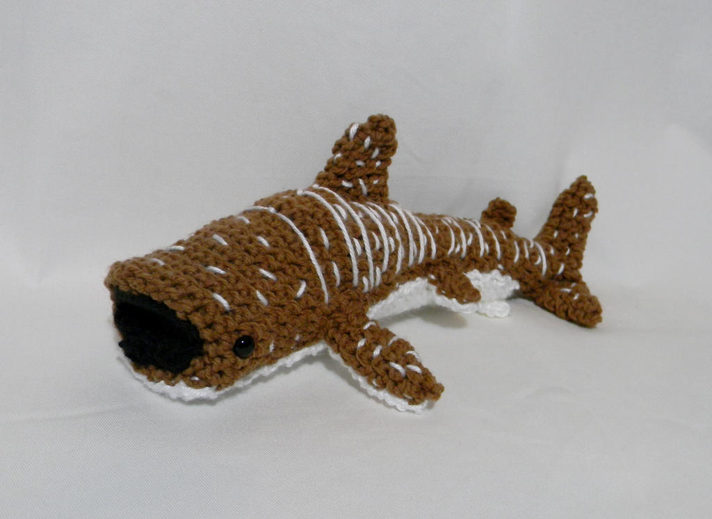 Whale Shark ami by gwilly-crochet