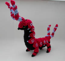 Shiny Scolipede by gwilly-crochet