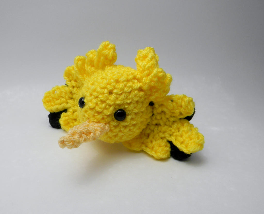 Zapdos ball by gwilly-crochet on DeviantArt