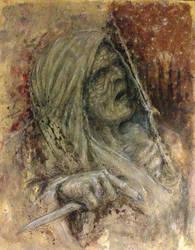 MAN begets GOD begets MURDER by Slowburn-Art