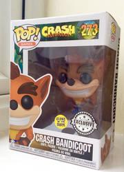 Crash Bandicoot Pop Vinyl by TheRightWriter