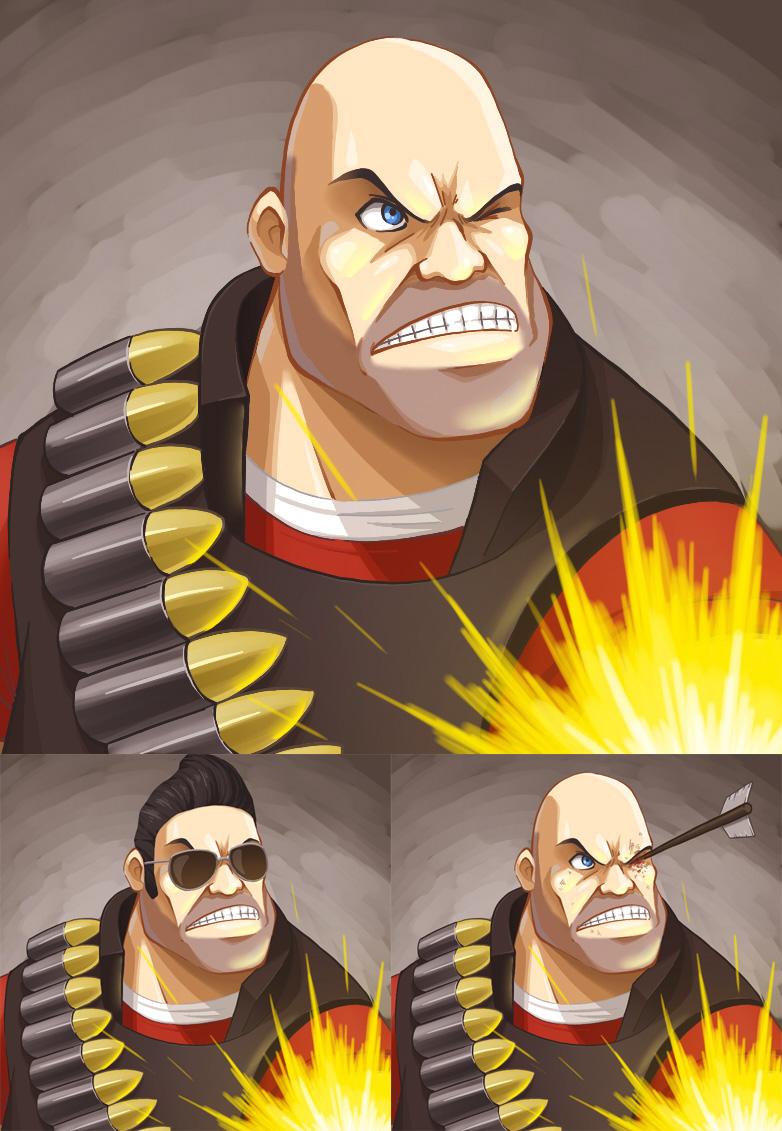 The Heavy by El-Sato