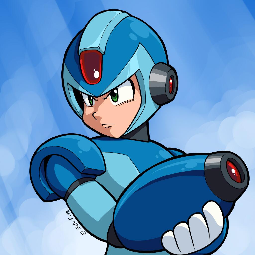 Megaman X by El-Sato
