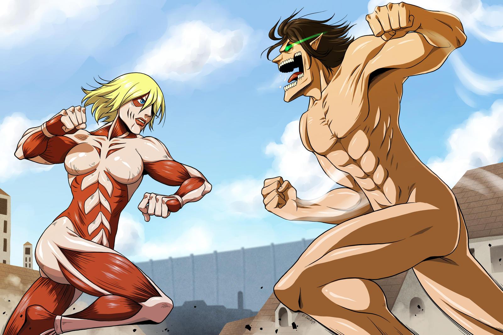 Titans by El-Sato