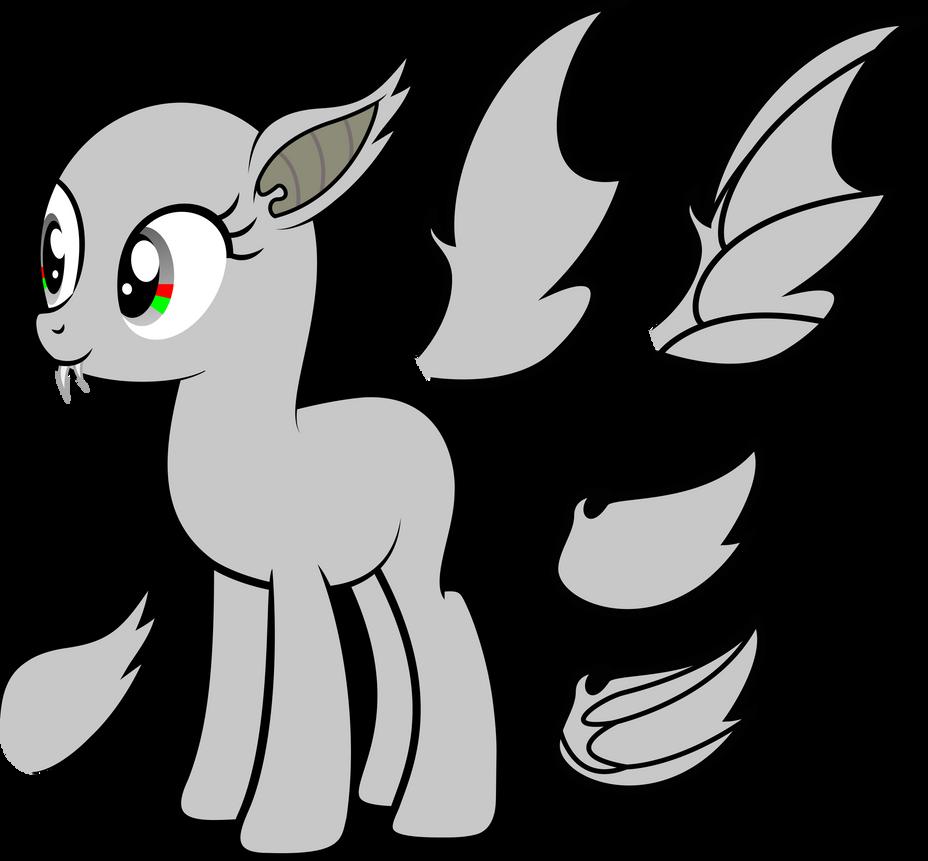 My little pony base unicorn with wings - photo#24