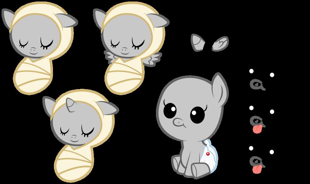 MLP:FiM - Baby Pony Vector Base by StargazeAndSundance on DeviantArt