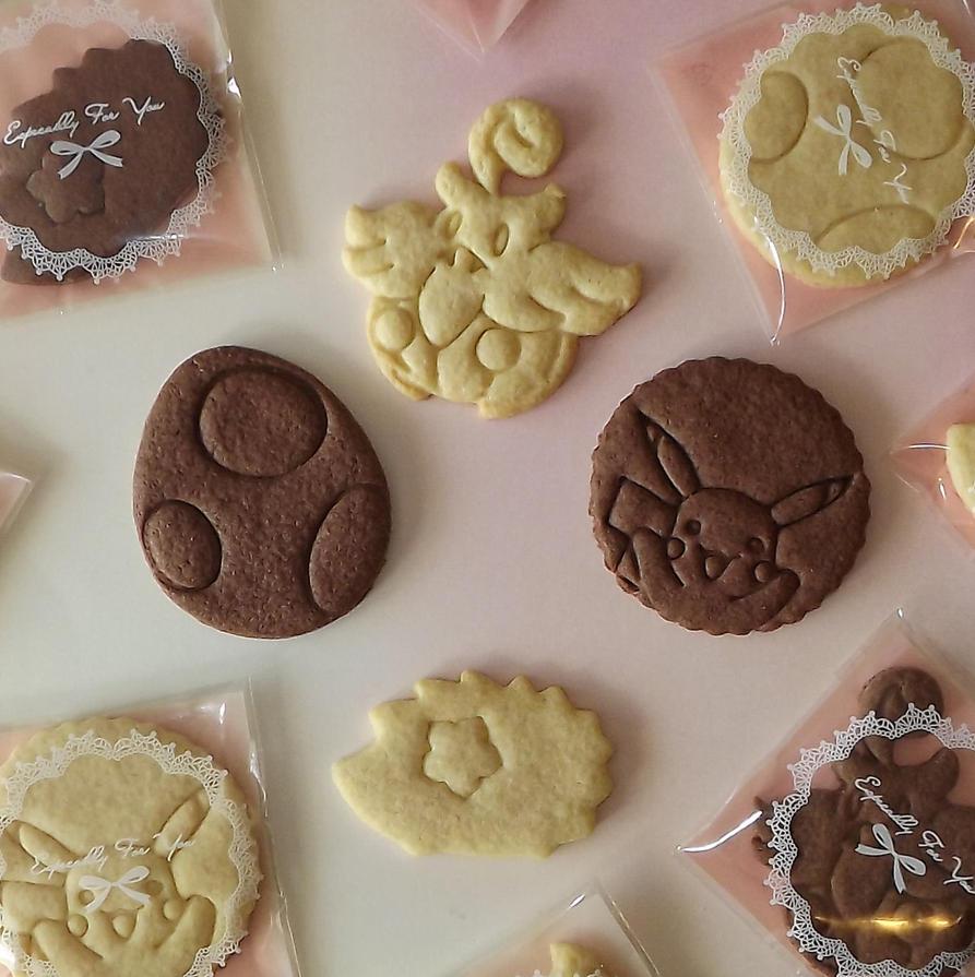 Pokemon Cookies by StargazeAndSundance