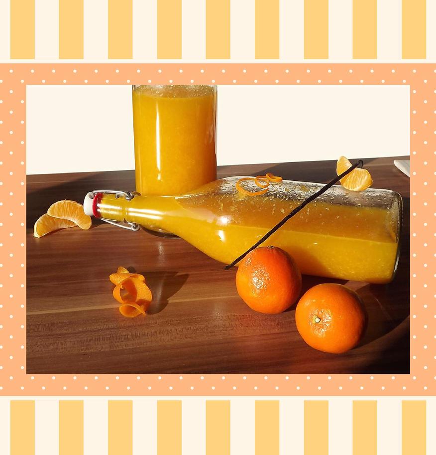 Tangerine liquor by StargazeAndSundance