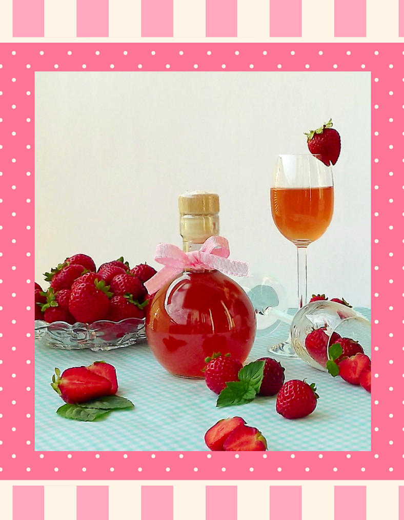 Strawberry liquor by StargazeAndSundance