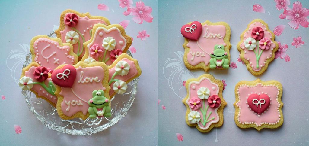 Valentines cookies by StargazeAndSundance