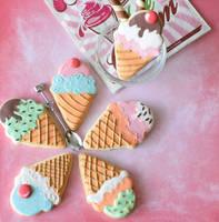 Ice cream or cookies? by StargazeAndSundance