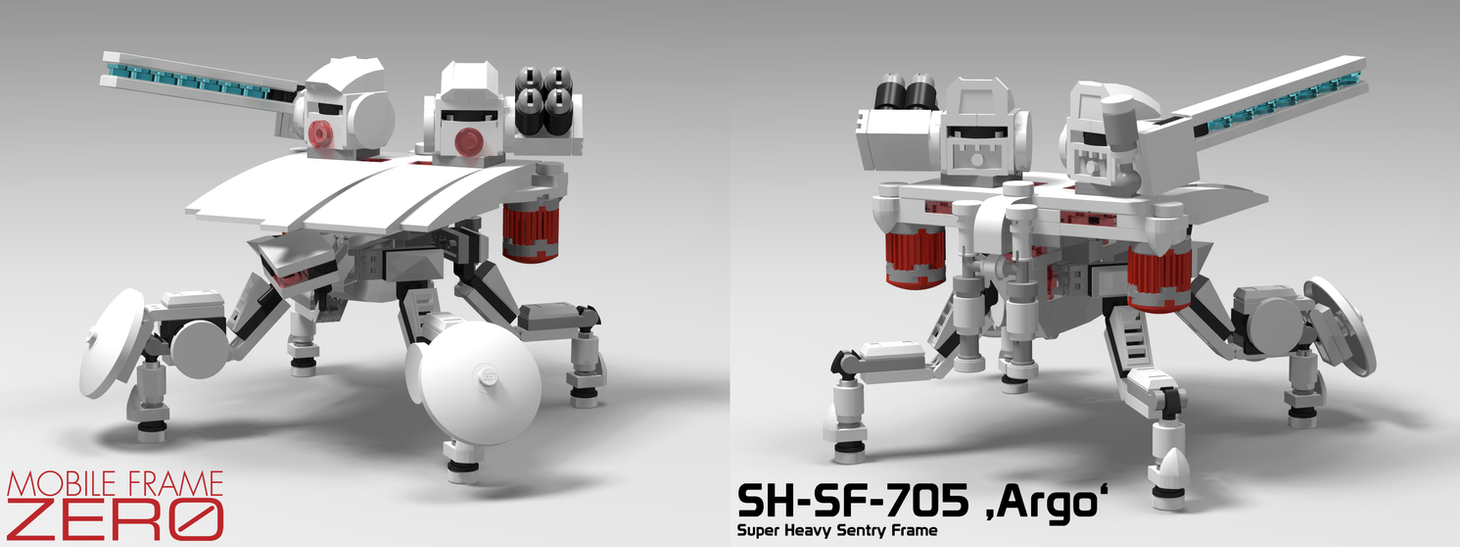 Mobile Frame Zero - SH-SF-705 \'Argo\' by StargazeAndSundance on ...