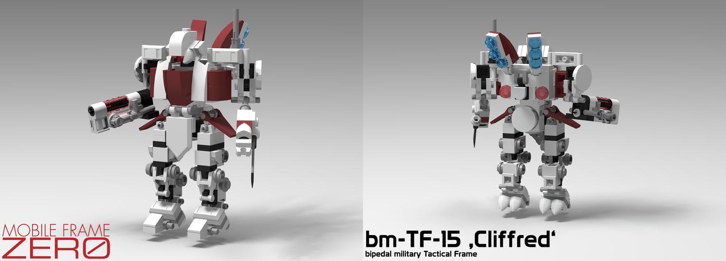 Mobile Frame Zero - bm-TF-15 'Cliffred' by StargazeAndSundance