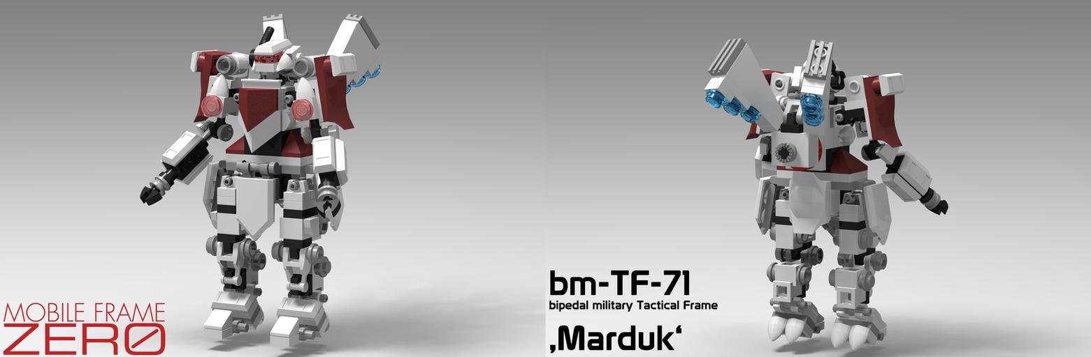 Mobile Frame Zero - bm-TF-71 'Marduk' by StargazeAndSundance