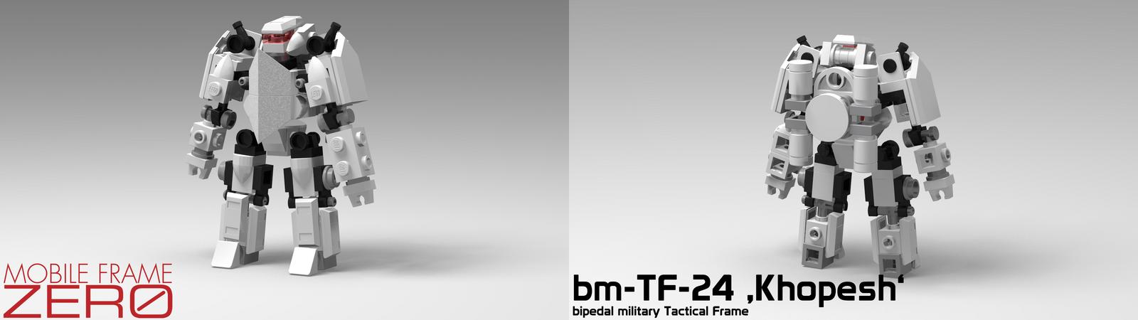 Mobile Frame Zero - bm-TF-24 'Khopesh' by StargazeAndSundance