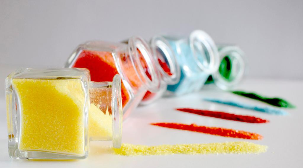 Multicolored Sugar by StargazeAndSundance