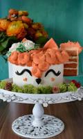 Fox Cake - Cut