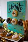 Donut Wall by StargazeAndSundance