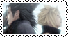 Zack Fair-Cloud Strife stamp by Psychedelic-Freakout