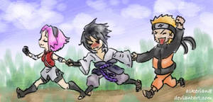 Team7 chibis - nanananana by askerian