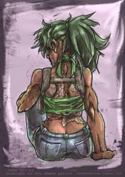Demon Patrol - Jade's tattoo by askerian