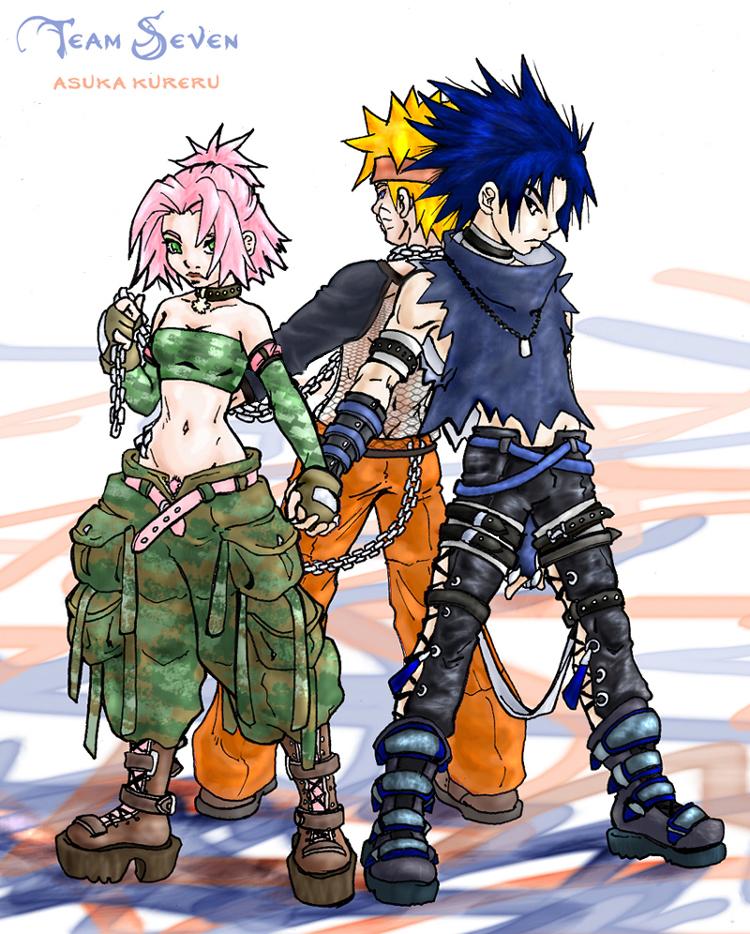Naruto sakura sasuke threesome