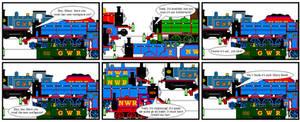 Gordon's Steam Engine Toothpaste