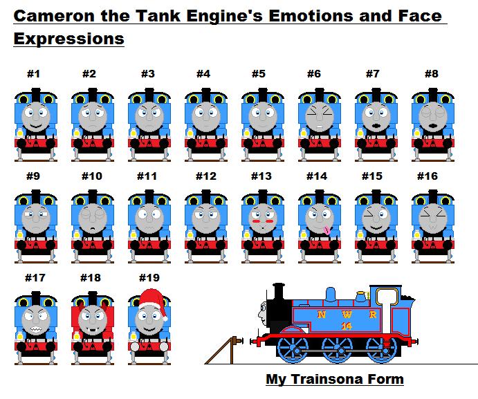 Thomas The Train Face Thomas Train Face Emotions