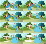 Rainbow Dash ate Cameron - MLP - FIM Vore Comic