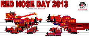 TAF - NWRA - Red Nose Day 2013