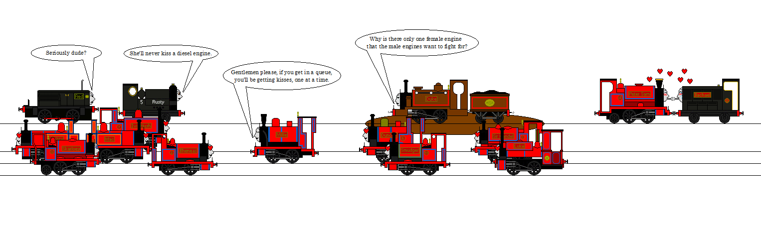 Girlfriend Troubles On The Skarloey Railway By