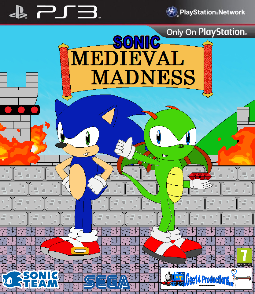 Sonic Games For Ps3 : Sonic medieval madness ps game cover by lgee on