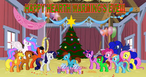 TAFA in MLP - FIM - Christmas Party