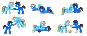 Cameron and Rainbow Dash