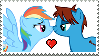 CameronXRainbow Dash Stamp by LGee14