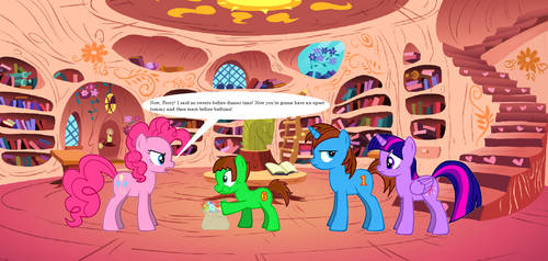 TAFA in MLP - FIM - Percy Gets Caught by GuardianSoulMLP