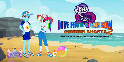 MLP - EQG - LFAR - Summer Shorts 2 Poster by GuardianSoulMLP