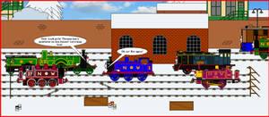 Christmas 2019 - Thomas' Mistletoe Mayhem