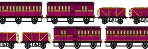 Lady's Magical Train Sprites