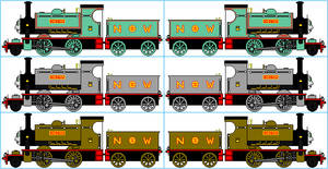 Chester the Electric Steam Engine Sprites