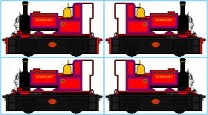 Skarloey's Haulage Wagon Sprites