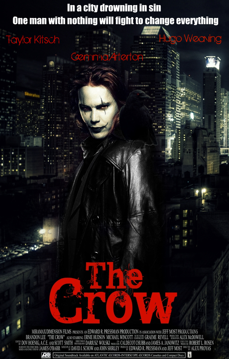 The Crow reboot movie poster