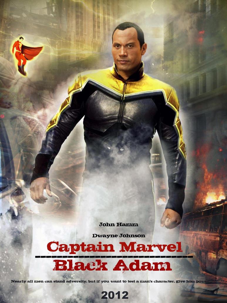Captain Marvel Vs Black Adam By Melciah1791