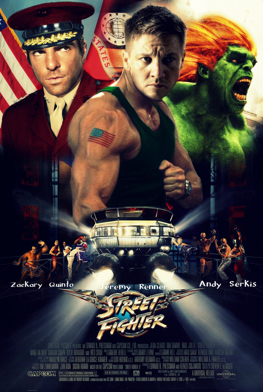 Street Fighter Movie Poster By Melciah1791 On Deviantart