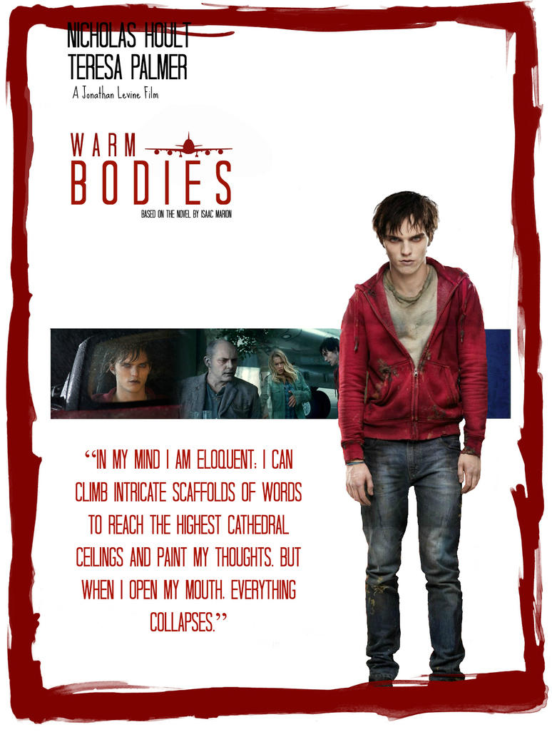 Warm Bodies Movie Poster by Melciah1791