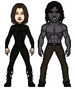 Michael Corvin and Selene of Underworld by Melciah1791