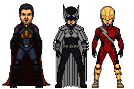 Crime Syndicate Redesign Batch 1 by Melciah1791
