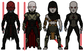 Sith Original Characters by Melciah1791